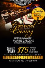 Five Course Gourmet Dinner at The PomMarine