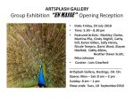 Art Splash Gallery Exhibition: En Masse - Opening Reception