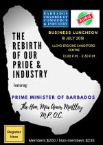 BCCI Monthly Luncheon - The Rebirth of Our Pride and Industry by Prime Minister Mia Mottley