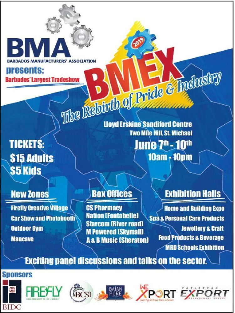 Barbados Manufacturer's Exhibition (BMEX) - What's On In