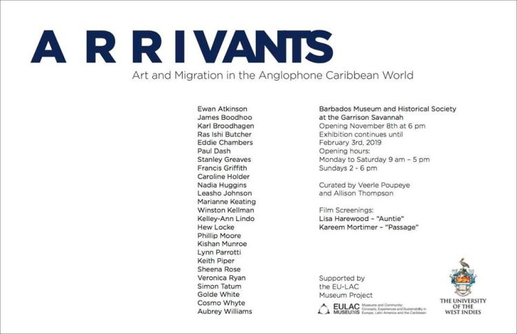 Barbados Museum Art Exhibition - Arrivants: Art and