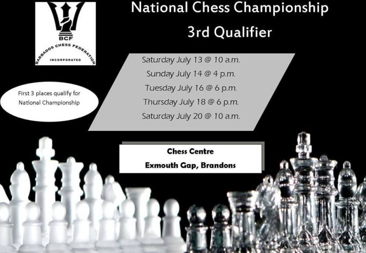 Barbados National Chess Championship - 3rd Qualifier - What's On In