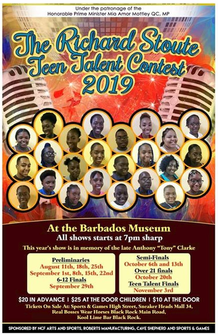 Richard Stoute Teen Talent Contest 2019: Finals - What's On