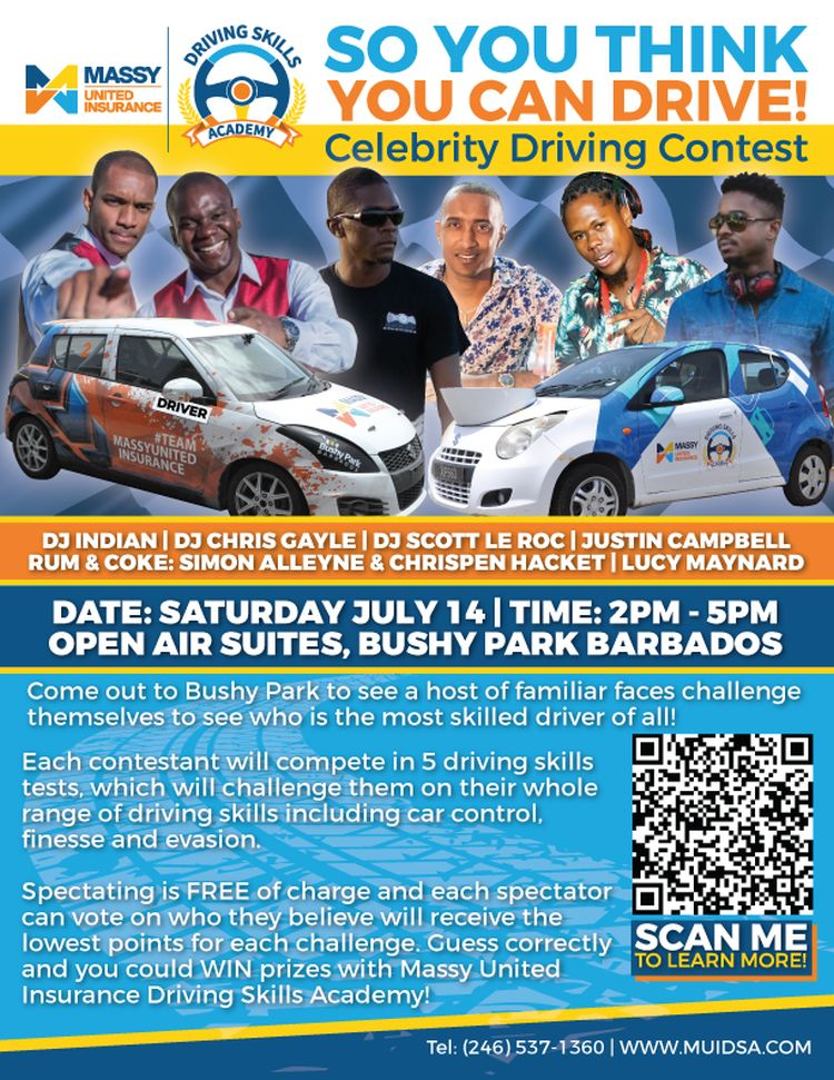 Motor Sport - So You Think You Can Drive? Celebrity Driving Contest