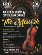 Annual Christmas Concert: The Wesley Singers - The Messiah